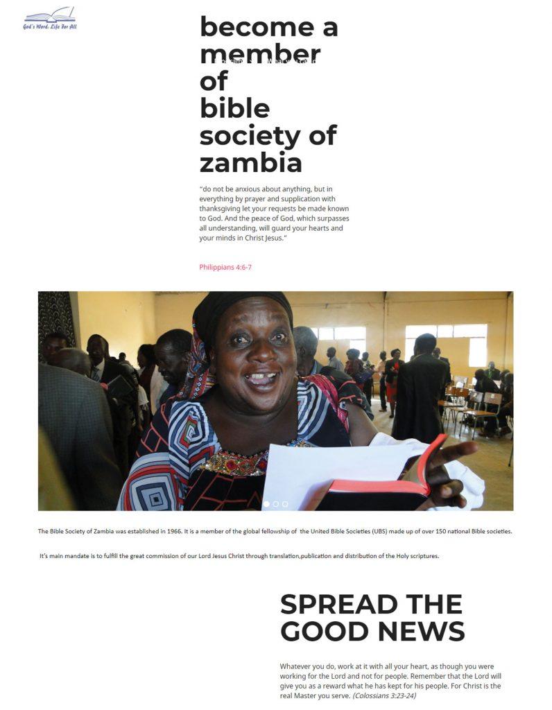 Zambia Bible Society