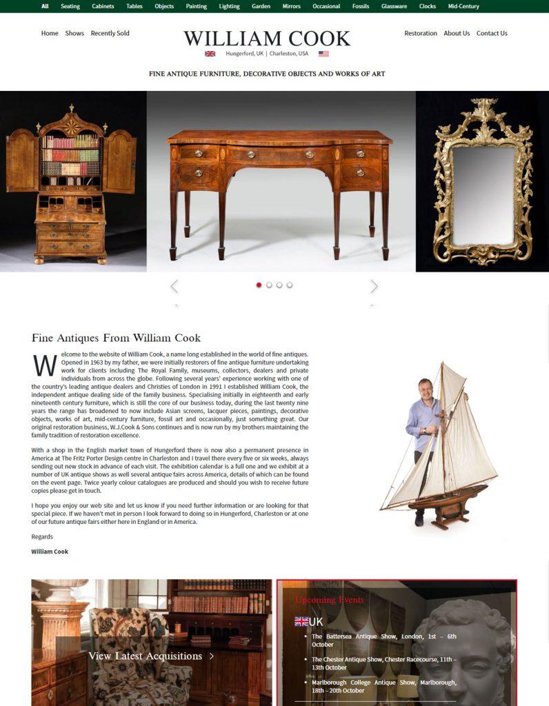 William Cook Antiques