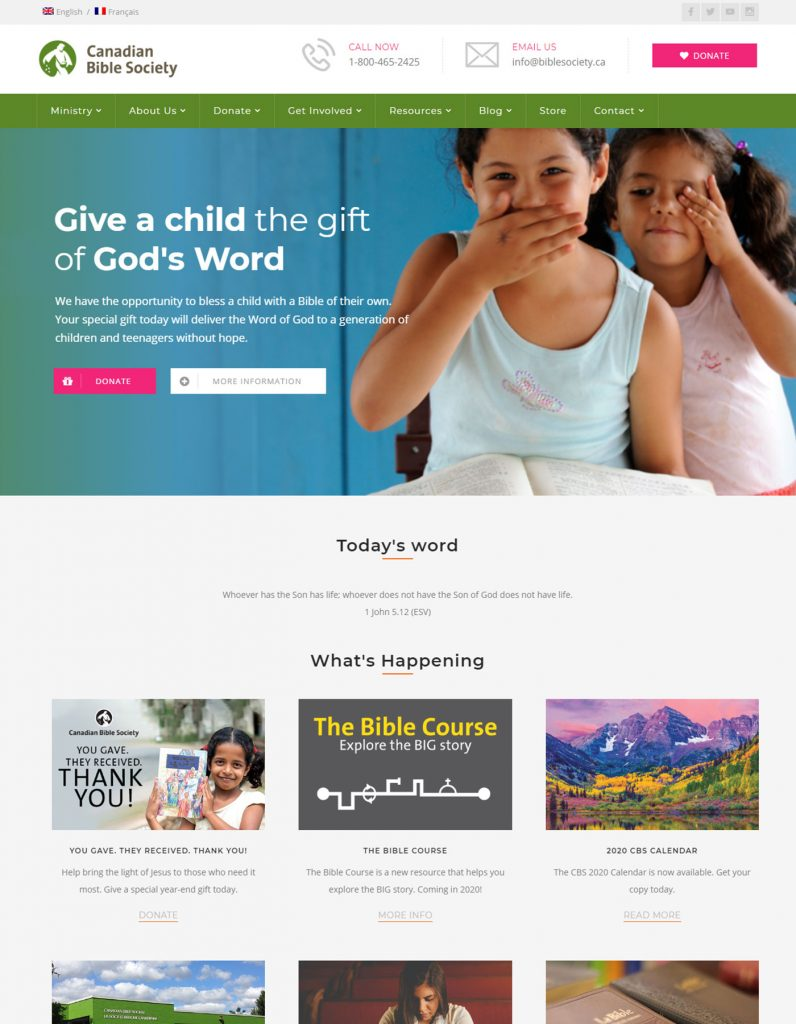Canadian Bible Society
