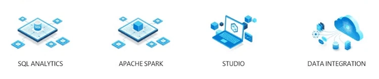 four key components of Azure Synapse